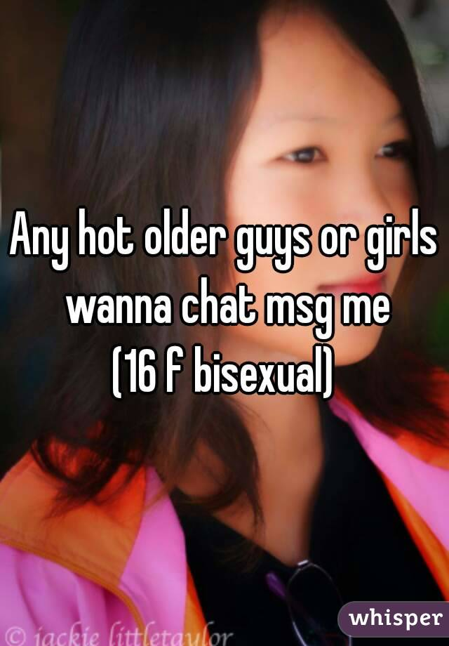 Chat With Older Guys