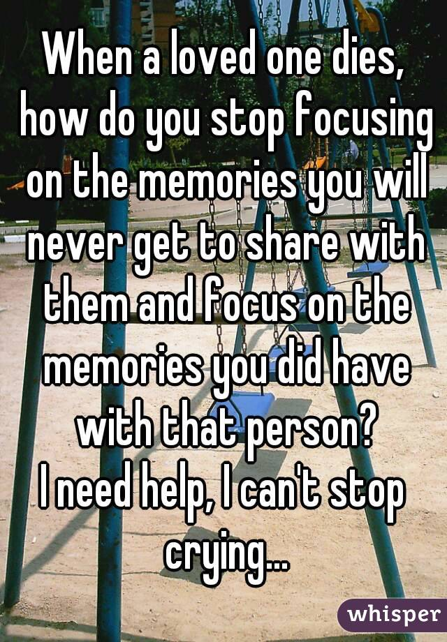I need help focusing?
