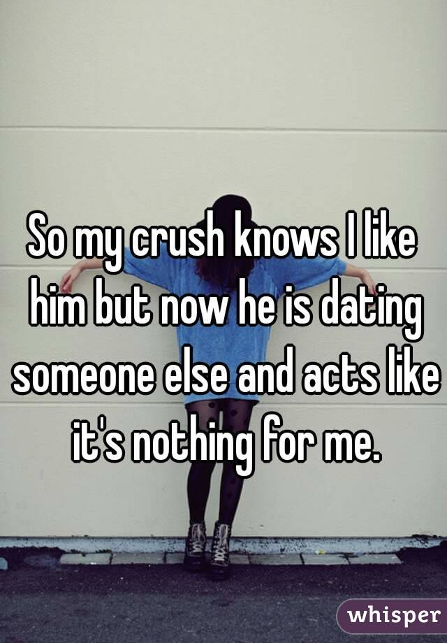 Signs Your Crush Is Dating Someone Else