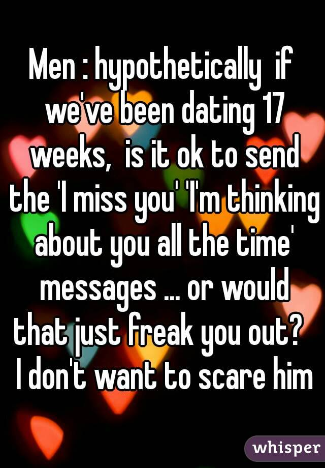 If we were dating