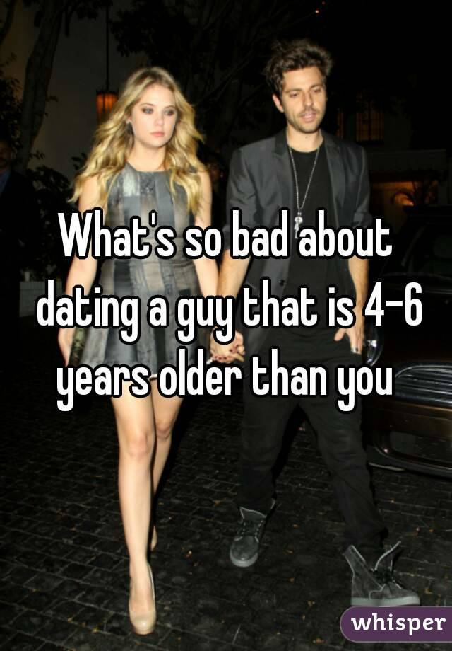 dating a guy older than you