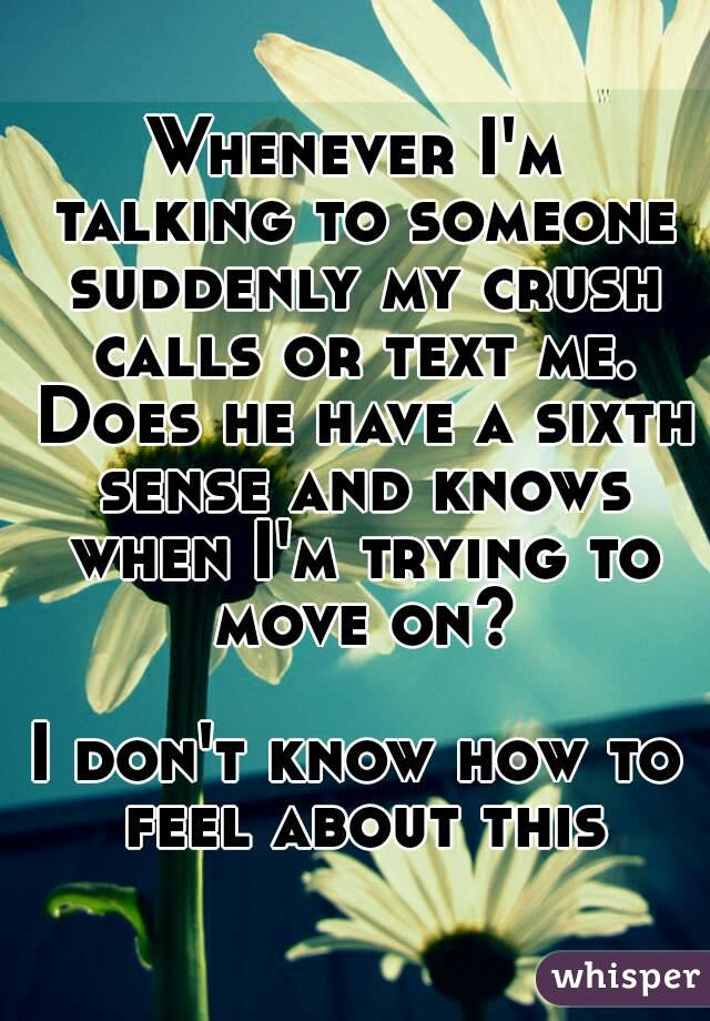 how to move on from a crush that doesn& 39