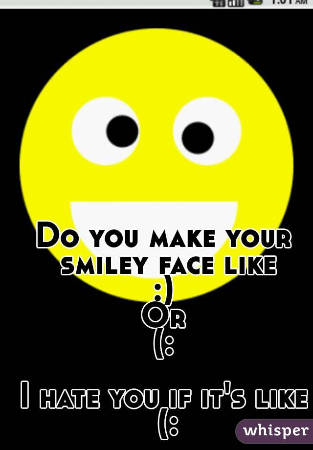 The gallery for --> Whisper Smiley Face