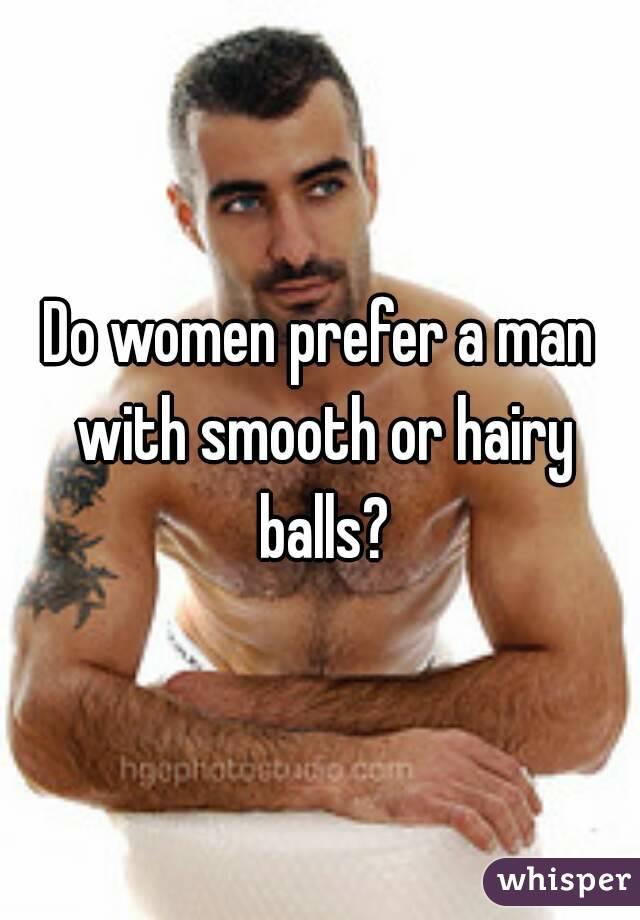 do women prefer shaved balls