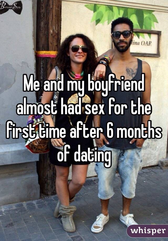 Sex after a month of dating