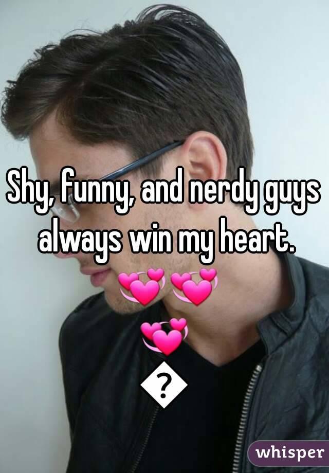 Dating shy nerdy guys