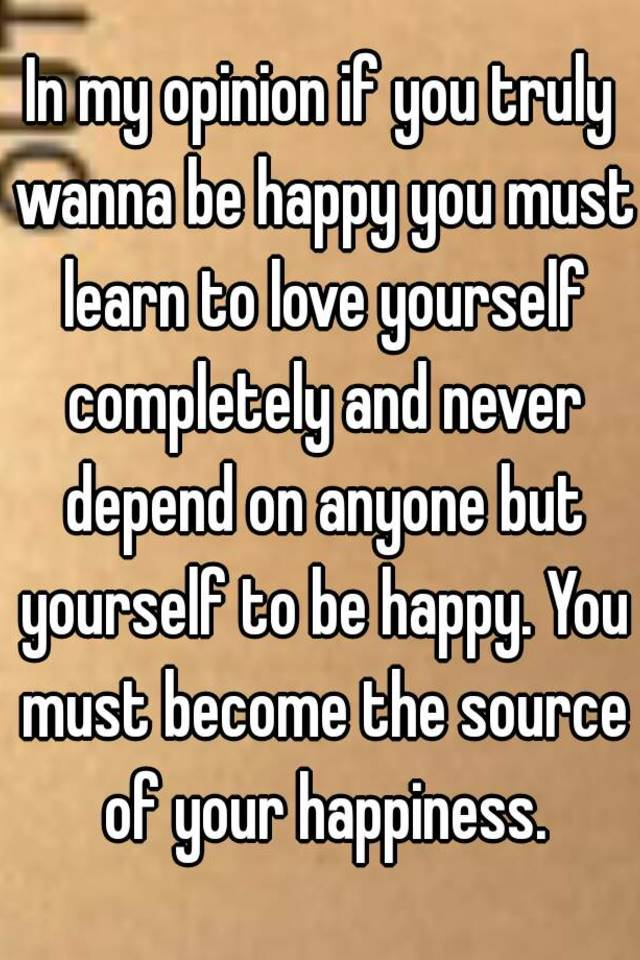 Why You Must First Love Yourself - Tapping.com