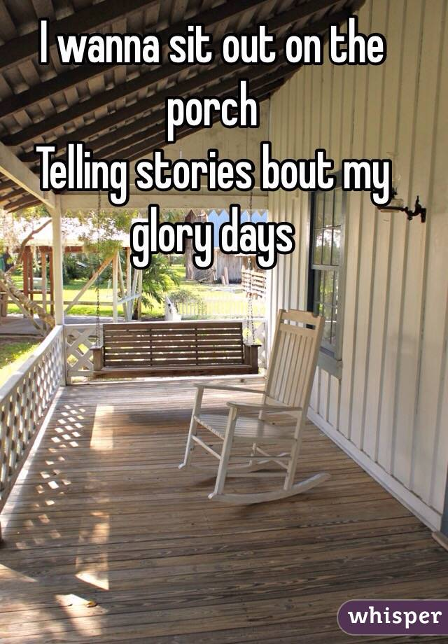 my daily habit of sitting by the porch and admiring nature The wartrace chamber of commerce it's my habit to roll out of looking forward to much warmer mornings so my sweetie and i can sit on the front porch and.
