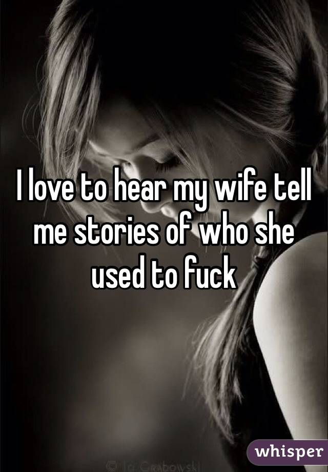 Wife erotic stories told by wife