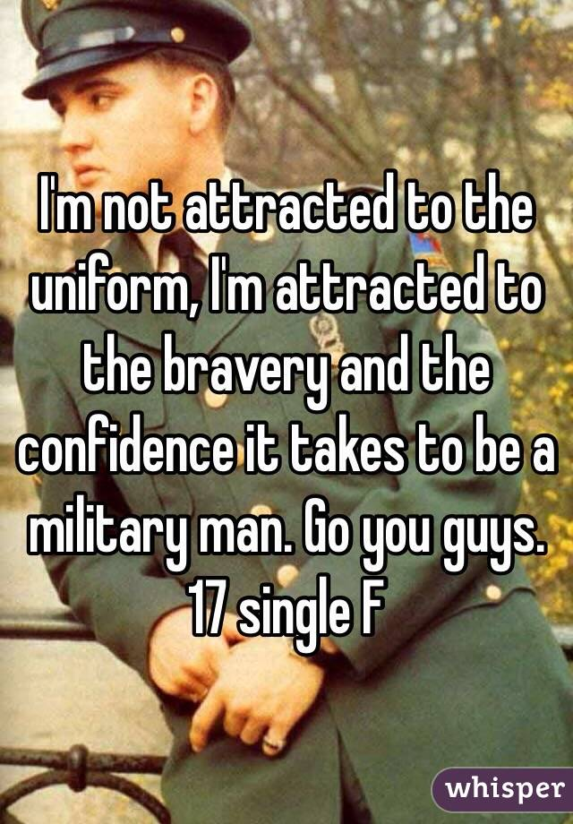 whisper afeacdbdc about dating military uniform