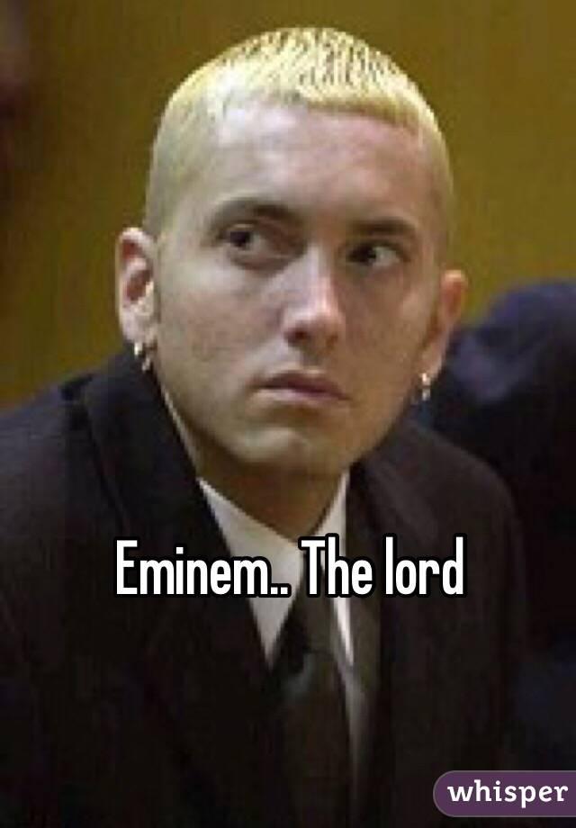 Eminem fuck the law