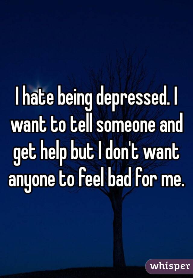 how to tell someone is depressed