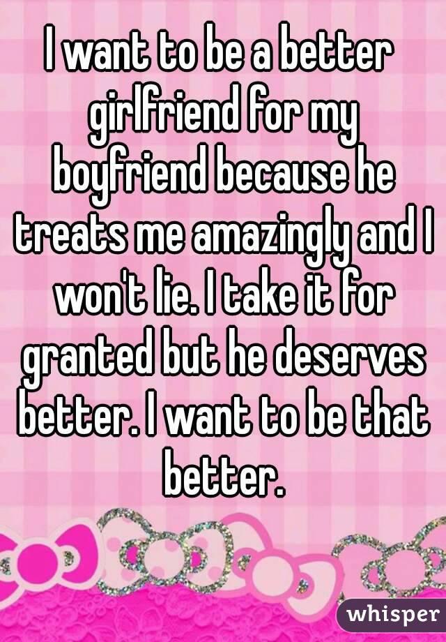 how to get a better girlfriend