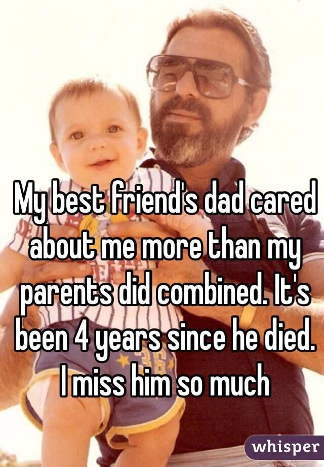 Did my Best my Best Friend's Dad Cared