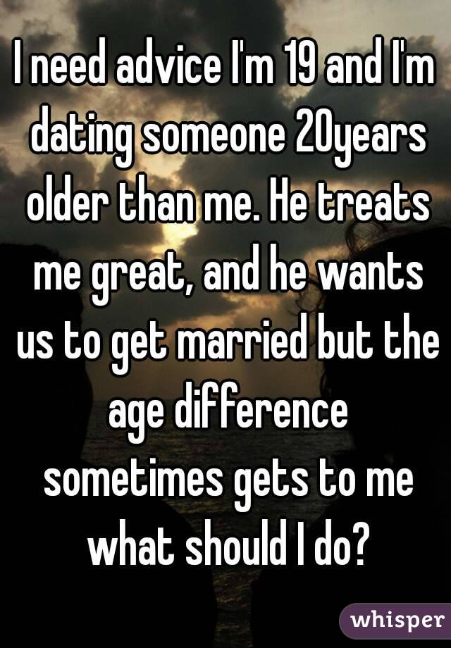dating someone a year older