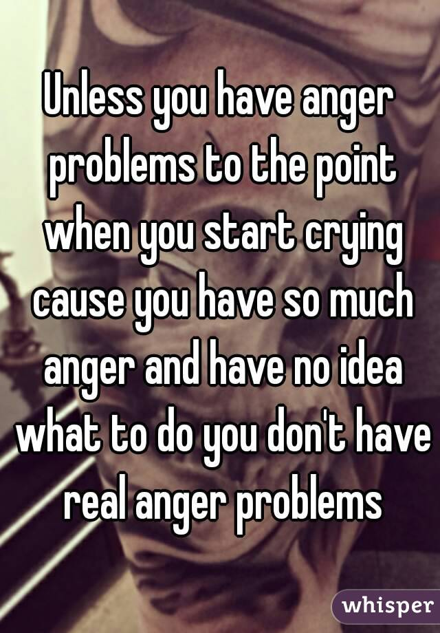 What problems do you have?