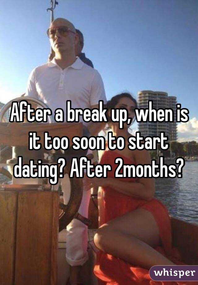 how soon to start dating after a breakup When to contact your ex giflriend after a breakup and make your girlfriend start second ricky booth is an experienced relationship counselor and dating.