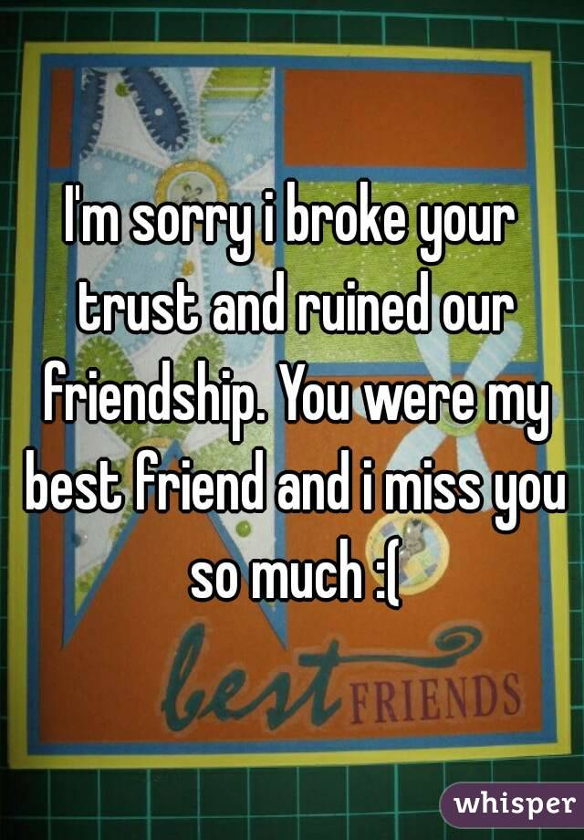 Messed Up Best Friend I M Sorry Quotes: If I Do For You, I Expect The Same From You. If I Suddenly