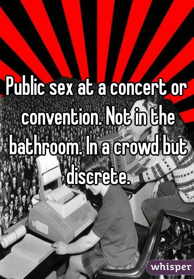 places to have discreet sex