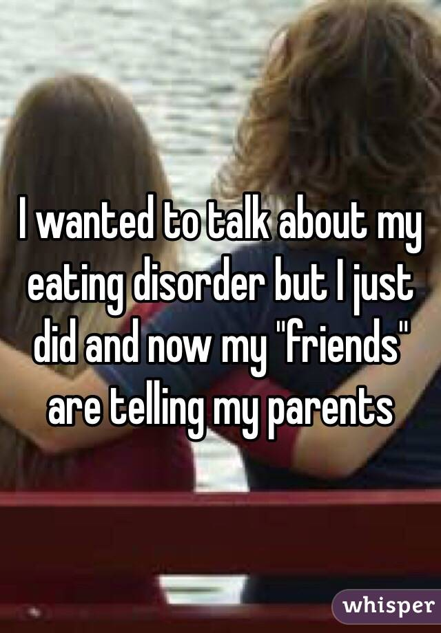 what its like dating someone with an eating disorder Navigating the dating waters while in recovery for an eating disorder just like we are afraid for you to know how deep our insecurities are if you see someone on the street who could lose a few pounds don't point it out.