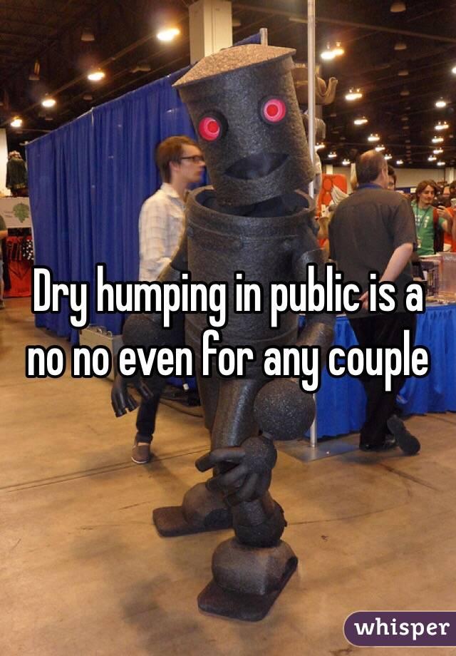 Dry sex in public