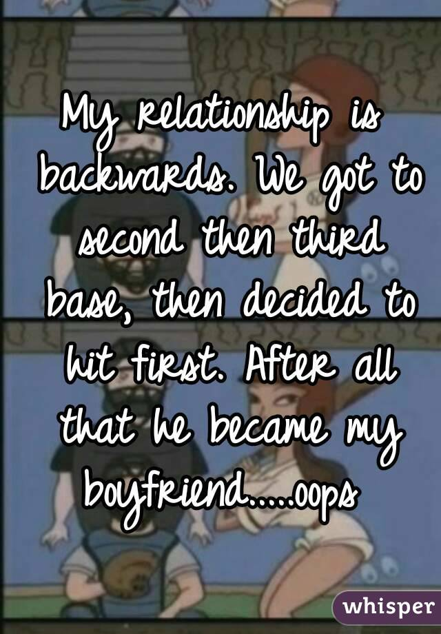 Base dating first in relationship