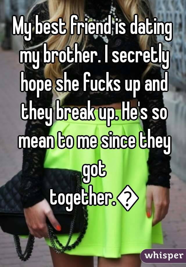 Hookup my friends brother yahoo answers