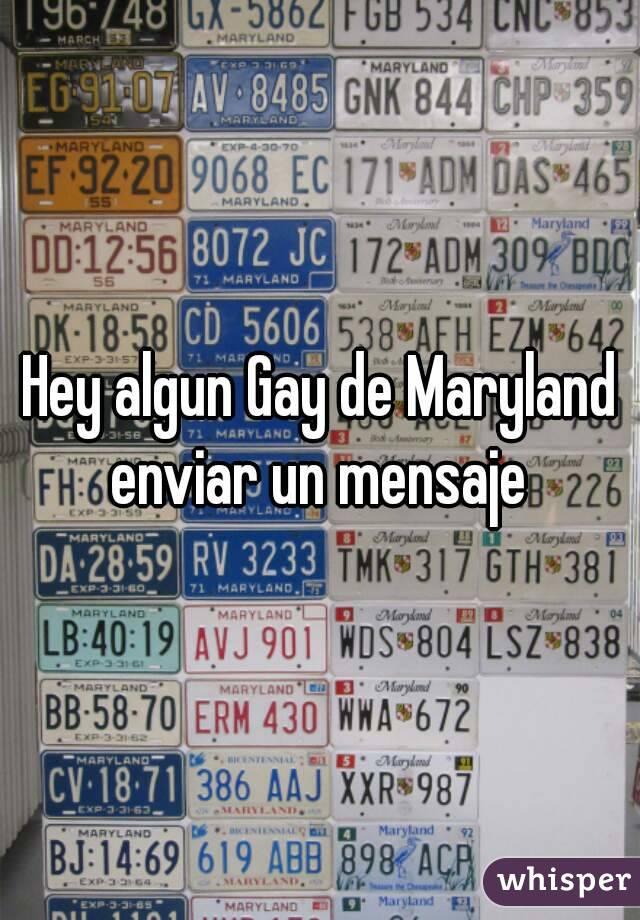 Hey algun Gay de Maryland enviar un mensaje