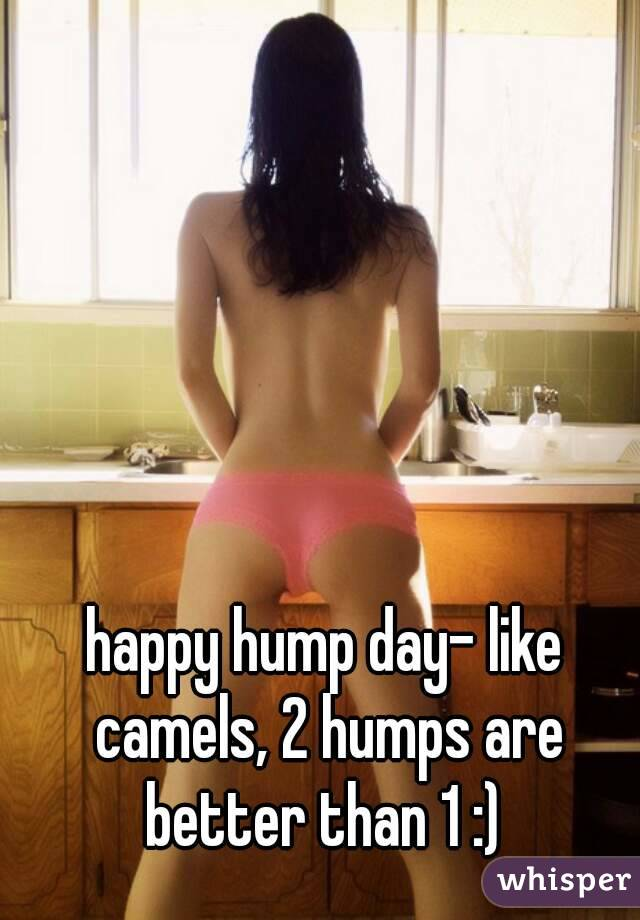 happy hump day- like camels, 2 humps are better than 1 :)