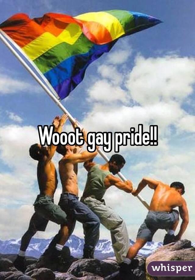 Wooot gay pride!!