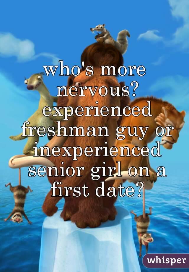Senior girl hookup a freshman guy college