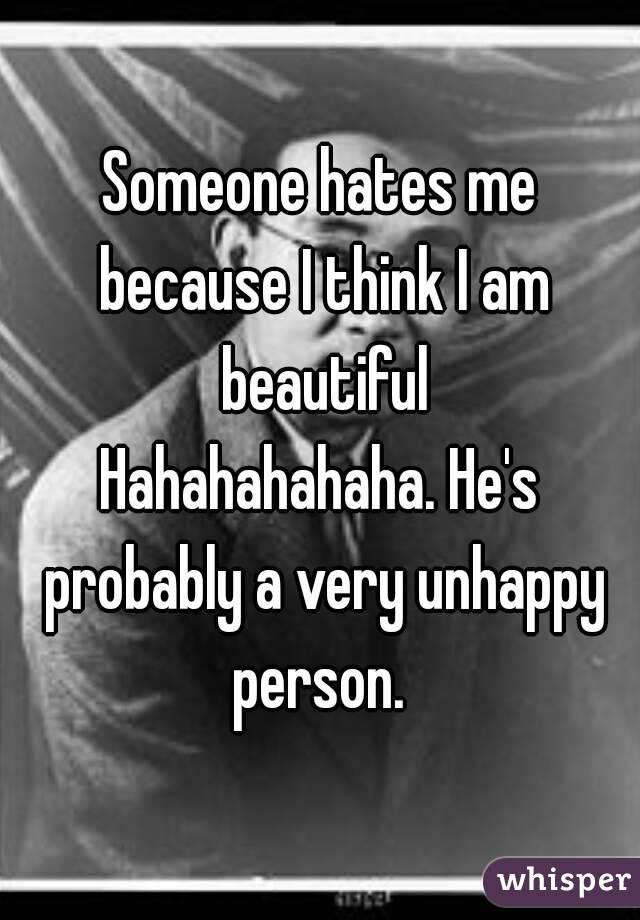 Very Unhappy Person He's Probably a Very Unhappy