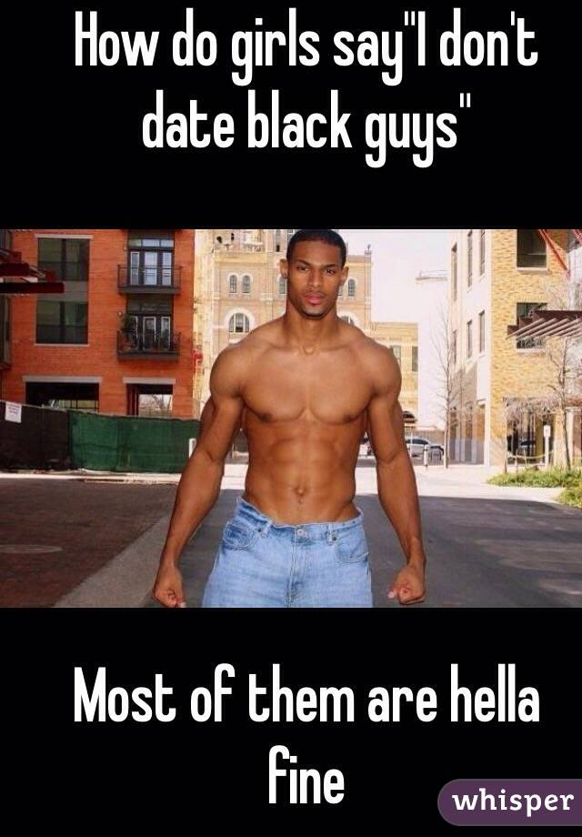 Is There Anything Wrong With Dating A Black Guy