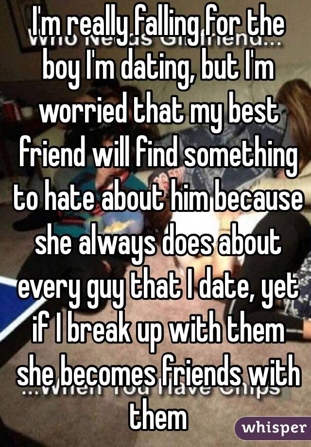 My friend is dating a guy i hate