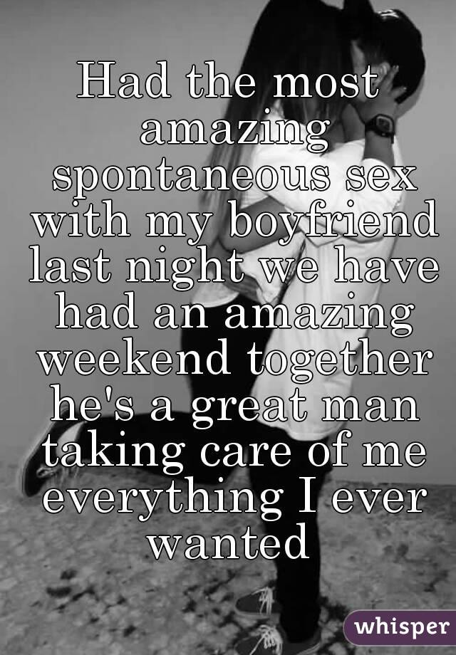 The most amazing sex