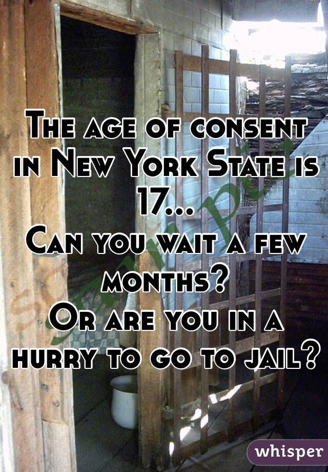 Dating consent age in new york
