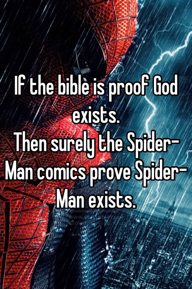 "an essay on the biblical proof on the existence of god Biblical proof that jesus christ is god the bible, even to a casual reader, makes it abundantly clear that jesus christ is god this article will only ""hit the."