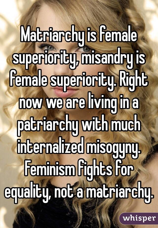 feminism and misandry in popular culture Beyonce's vma performance was the feminist moment i've been waiting for behold one of the most powerful pop-culture messages of my lifetime.