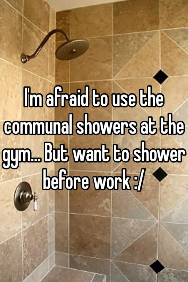 Communal Showers at the Workplace Essay