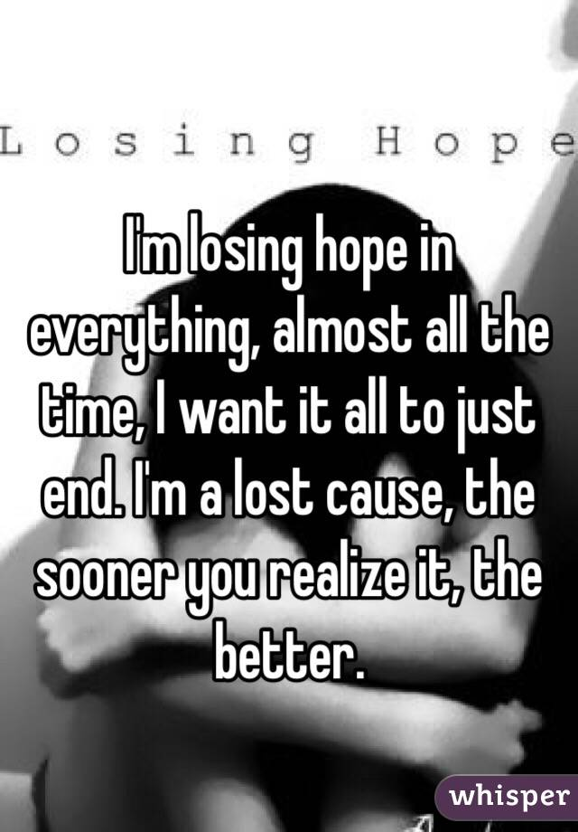 What do you think? Please help, I'm losing hope.?
