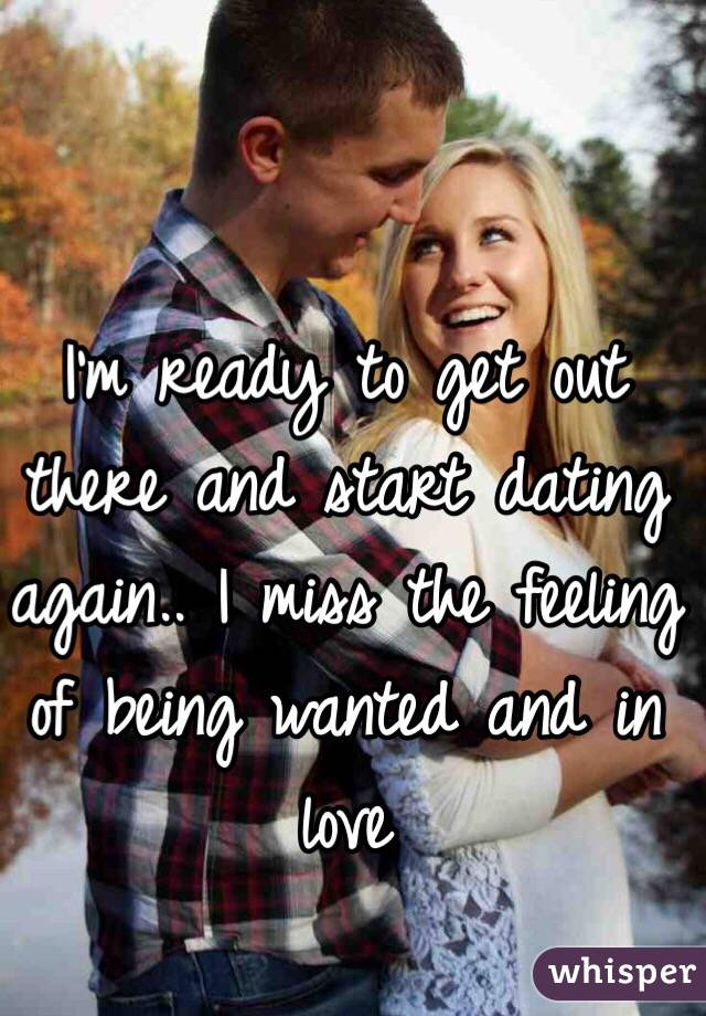 im not ready to start dating again Eharmony relationship advice » start with you » 3 signs you're not ready to date and with a few adjustments you can be back on the path to date-readiness.