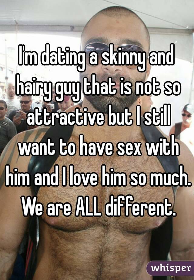 Dating a not so attractive guy