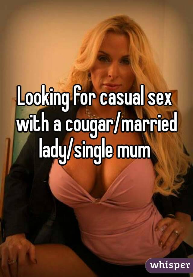 married women looking for casual sex