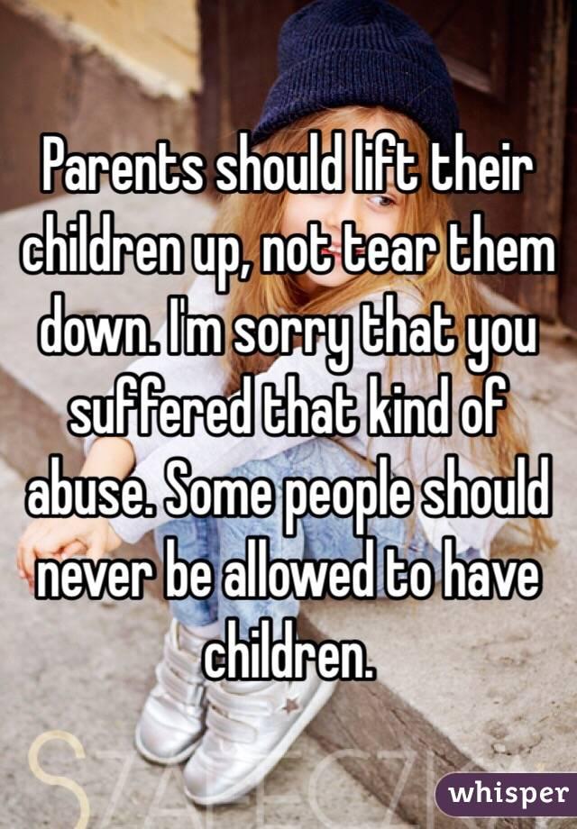 Should Children have Children?