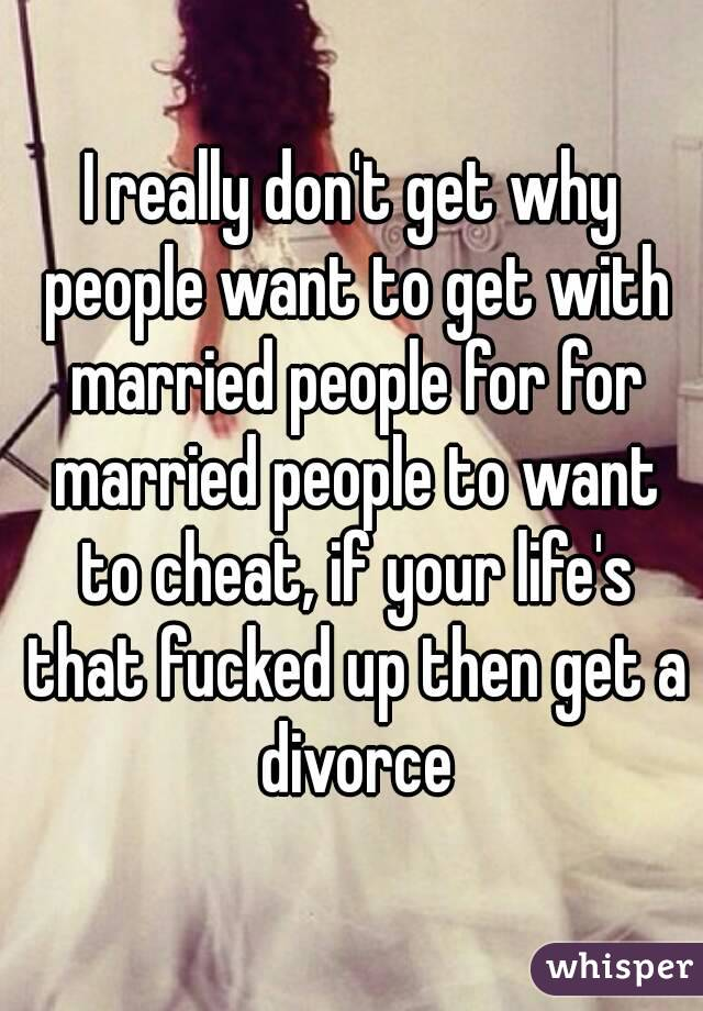People who want to get married