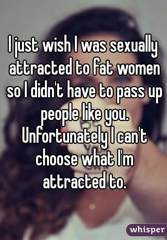 Do people choose who they are sexually attracted to?