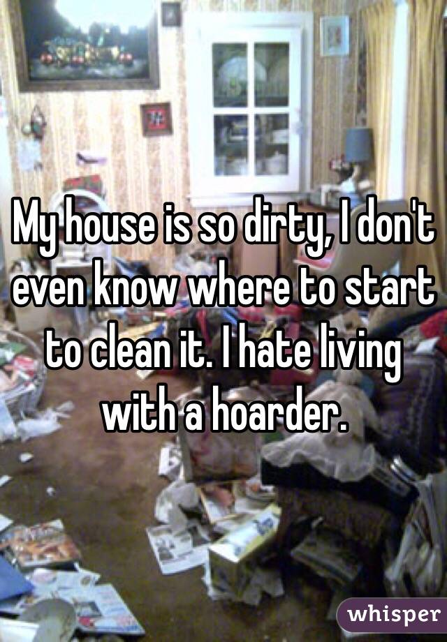 My House Is So Dirty I Don 39 T Even Know Where To Start To
