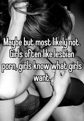 Lesbian i know what girls want had lot