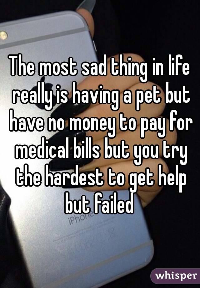 Help i have no money