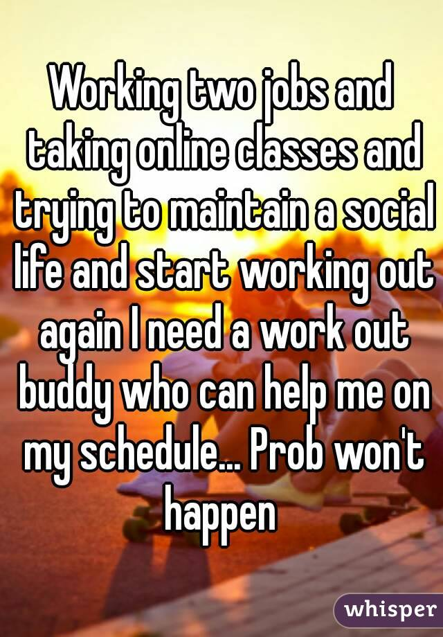 How does taking online classes work?
